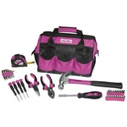 The Original Pink Box Multi-Purpose Tool Set with 12'' Tool Bag