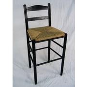 Dixie Seating Carolina 30'' Bar Stool; Black