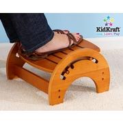 KidKraft 1-Step Manufactured Wood Adjustable Step Stool for Nursing; Honey