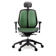 Duorest Alpha Executive Mesh Seat Office Chair; Green