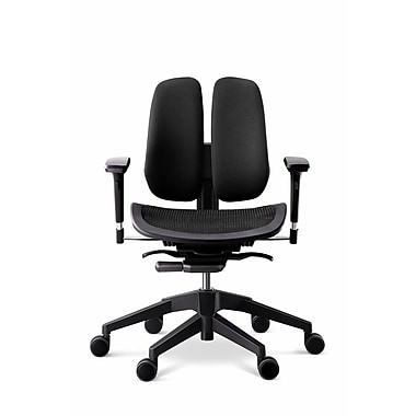 Duorest Alpha Mesh Seat Office Chair; Black