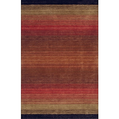 Bashian Rugs Fulham Red Area Rug; 5' x 7'6''