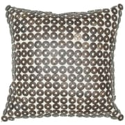 India's Heritage Button Throw Pillow; 18'' x 18''