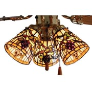 Meyda Tiffany 4'' Glass Bell Lamp Shade