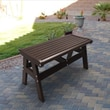 Malibu Outdoor Living Newport Polyethylene Picnic Bench; Dark Brown