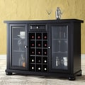Crosley Alexandria Wine Bar; Black