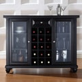 Crosley Cambridge Wine Bar; Black
