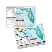 Universal Map Thematic Deskpad Map - Florida