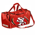 Forever Collectibles NFL 11'' Travel Duffel; San Francisco 49ers