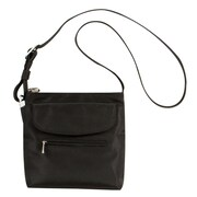 Travelon Anti-Theft Mini Shoulder Bag; Midnight Blue