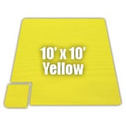 Alessco Premium SoftFloors Set in Yellow; 10' x 16'