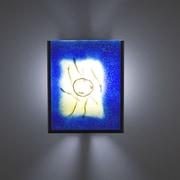 WPT Design FN2IO 1 Light Outdoor Wall Sconce; AmberLemonDrop