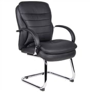 Aaria Habanera Guest Chair; Chrome / Black