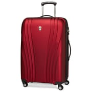 Atlantic Luggage Lumina 28'' Hardsided Spinner Suitcase; Red