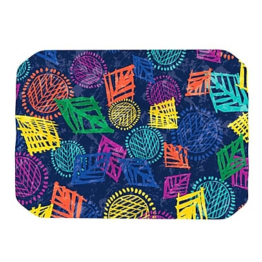 KESS InHouse African Beat Placemat; Blue