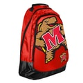 Forever Collectibles Core Structured Backpack; University of Maryland Terrapins