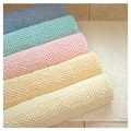 American Mills Pebble Cotton Bath Mat; Lemon