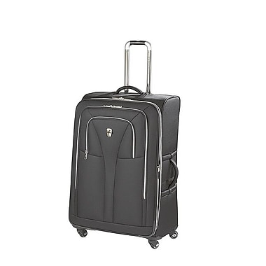 Atlantic Luggage Compass Unite 29'' Expandable Upright Spinner Suiter; Black