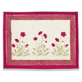 Couleur Nature Poppies Placemat (Set of 6)