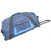 Netpack 28'' 2-Wheeled Lightweight Sports Travel Duffel; Navy