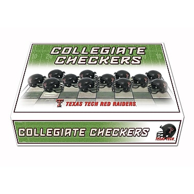 Rico Industries NCAA Checker Set; Texas Tech