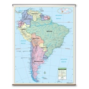 Universal Map Primary Wall Map - South America