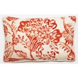 Corona Decor Bali Pillow; Red Antique