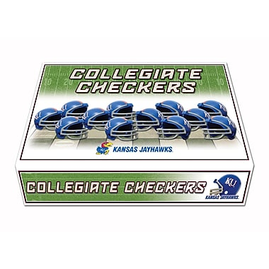 Rico Industries NCAA Checker Set; Kansas