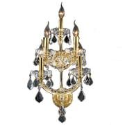 Worldwide Lighting Maria Theresa 5 Light Wall Sconce; Gold