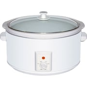 Brentwood 8-Quart Slow Cooker; White