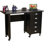 Venture Horizon VHZ Office 43'' W Mobile Craft Computer Desk; Black