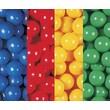 Wesco NA Box of 400 2.5'' Ball Pool Balls; Green