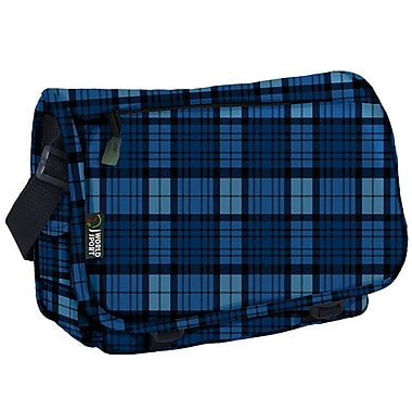 J World Terry Campus Messenger Bag; Navy