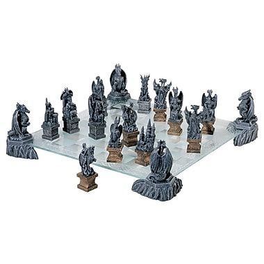 Design Toscano Dragons of the Realm Chess Set