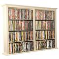 Venture Horizon VHZ Entertainment Double Wall Mounted Storage Rack; White