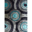 Rug Factory Plus Living Shag Blue/Gray Rug; 5' x 7'