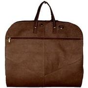 David King Light Garment Bag; Cafe / Dark Brown
