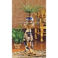 Design Toscano The Egyptian Goddess Eset Pedestal Plant Stand