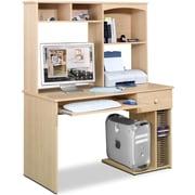 Nexera Alegra Student Computer Desk and Hutch