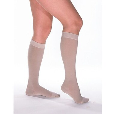 Venosan VenoSoft 30-40 mmHg Beige Below Knee Stocking Closed Toe Full Calf; Large
