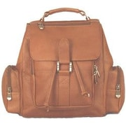 David King Mid Size Top Handle Backpack; Tan