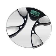 Escali Glass Body Fat / Body Water Bathroom Scale