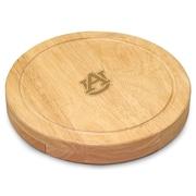 Picnic Time NCAA Circo Engraved Circulor Cutting Cheese Tray; Yale University Bulldogs