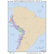 Universal Map World History Wall Maps - South American States