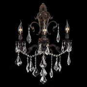 Worldwide Lighting Versailles 3 Light Wall Sconce