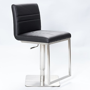 Matrix Dimaz 22.5'' Adjustable Swivel Bar Stool; Black