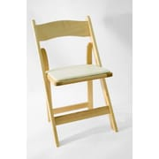 Commercial Seating Products American Classic Wood Folding Chair; Natural