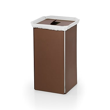 Ws bath collections complements bandoni laundry hamper rust staples - High end laundry hamper ...