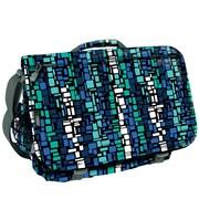 J World Thomas Squares Messenger Bag; Blue