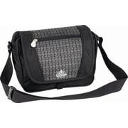 Vaude Atlanta Messenger Bag; Black / Grey